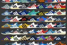"Adidas / All models of sneakers and apparel by ""The Brand With 3 Stripes"""