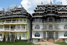 Rich gypsy houses in Romania & Moldova / by Ina Boianova-Todorova