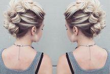 hair pin ups