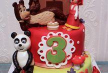 Torta Maša i meda / Torte za dečiji rođendan Maša i meda