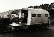 caravane, camping, van
