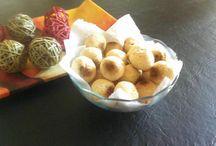 Comida!!! / 1 kg de Harina de mandioca 3 Huevos 250 gr de Queso parmesano 250 gr Queso Mar del Plata 2 Naranja 150 gr Manteca Leche, cantidad necesaria