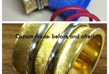 Custom made rings / Custom made rings. Made by hand or 3D computerized imaging. We can custom make any ring with the exact detail as provided in the picture.213)6277002 or service@chicjewelry.com