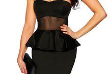 Mesh Insert Dresses / by ComposeMe.com