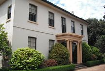 Early Australian Colonial Homes / Homes built in the early period of European settlement in Australia typifying the restrained and elegant colonial Georgian style.