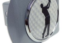 Golf Chrome emblems and hitch covers