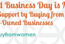 Woman-Owned Businesses / Pins from Woman-Owned Businesses.  More information here: http://www.urbangirl.com/women Please do not pin more than 2 pins per day.  Thank you!