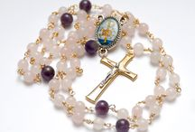 Handcrafted Rosaries / Beautiful Irish handcrafted Rosary Beads, Chaplets and Tenners. All my rosaries are made with the traditional wire wrapping technique to last several lifetimes.