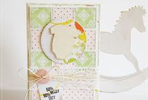 baby cards / stamp card