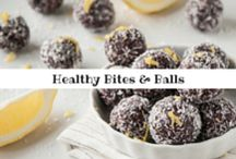 Healthy Bites & Balls / Healthy bites & balls made from real, whole food ingredients! 3 pins per day max. Must be HIGH QUALITY VERTICAL IMAGES. Only HEALTHY bites and balls please. Email kaila@healthyhelperblog.com if you would like to be added! / by Kaila@HealthyHelperBlog.com