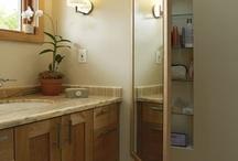 Banyo dolap dekorasyon