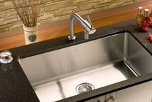 Kitchen Sinks/Faucet Ideas / We have given you everything but the kitchen sink....So here they are!