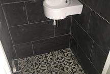 tegelvloer toilet