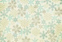 Снежные, зимние, новогодние