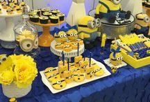 minions dessert table