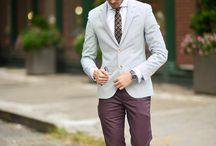 Burgunder bukse