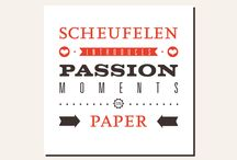 Passion moments on paper