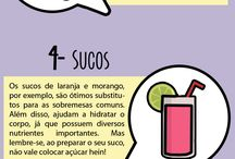 Substitutos saudáveis para doces