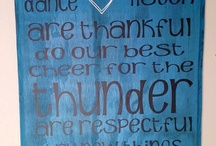 Thunder / by Diana Jameson