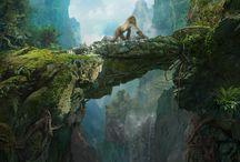 Dschungel Mountains