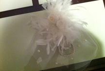 white headpieces