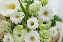 【お悔やみのお花】生花ギフト / Flower noteの生花アレンジ。 お悔みのお花のギャラリーです