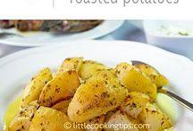 Greek steamed potatoes