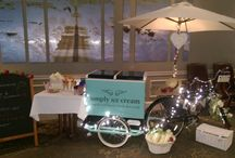 Ice Cream Trike Weddings / This was a great event to attend. There was a live Blues band playing and also an amazing ice cream trike for the wedding