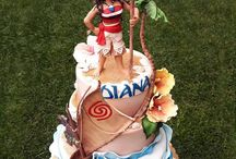 tortas mi cumple MOANA