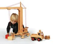 Fagus Trucks / For over 30 years Fagus has stood for product quality and excellence of design producing toys that stimulate the imagination while encouraging creativity and motor skills. Fagus products are manufactured with particular attention to conserving resources, solely using German beech wood from forestry enterprises that guarantee sustainable management of their forests. Fagus toys are also ultra durable and naturally meet national and international safety standards.