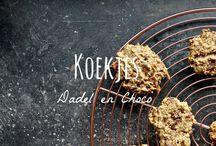Koekjes / Gezonde koek recepten. Suikervrije koekjes en glutenvrije koekjes.