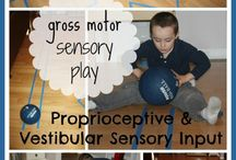 ILS Proprioception Activities / Improving your child's proprioception with fun games, activities and exercises.