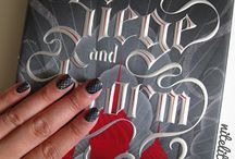 Manicure Monday / A weekly feature on my blog, Nite Lite Book Reviews, that combines my love of reading and nail polish.
