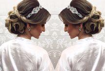 Haar / hair / hairstylist / Bride