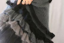 Knitting - dress, skirt
