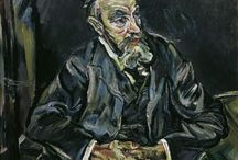 Oskar Kokoschka / Malarz, rysownik, pisarz  był przełomowym  pionierem ekspresjonizmu