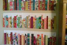 patchwork wall & bed quilts