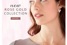 Pia Jewellery - New Rose Gold Collection / New Rose Gold Collection from Pia Jewellery