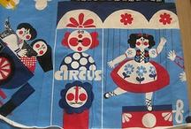 Fabrics I adore! / by Ellie Nicol-Hilton