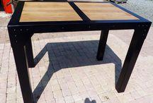 Prix meuble acier bois