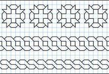 dibujos cuadricula