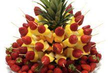 fruit displayys