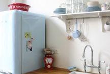 Kitchen: fridge