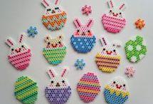 Easter perler beads