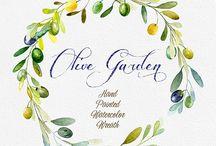 Ambiance Jardin d'olivier