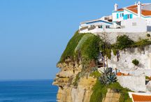 Azenhas do Mar / A picturesque village by the sea with  a beautiful set of pools dug in the cliff. This is a fantastic place for a relaxed day by the sea. You will find great seafood Restaurants around to!