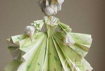 panenky z papíru