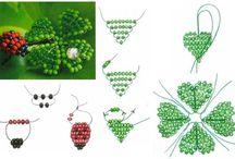 Perles : Fleurs, plantes