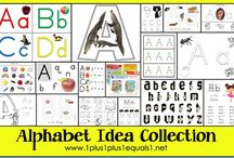 ABCs / ABC activities for PreK / by Aleacia @ Dillydaliart
