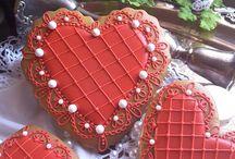 srdíčka valentýnská